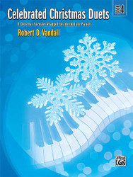 Celebrated Christmas Duets, Book 4 6 Christmas Favorites Arranged For Intermediate Pianists