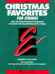 Essential Elements Christmas Favorites For Strings, Viola