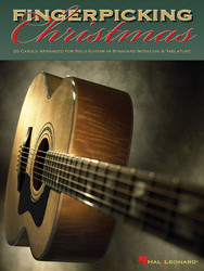 Fingerpicking Christmas, 20 Carols Arranged For Solo Guitar In Notes & Tablature, Solo Guitar