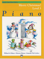 Alfred's Basic Piano Course: Merry Christmas! Book 3
