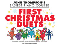 First Christmas Duets, 1 Piano, 4 Hands/Elementary Level