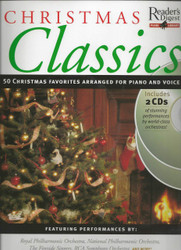 Christmas Classics, Reader's Digest Piano Library Book/2-Cd Pack, Piano/Vocal