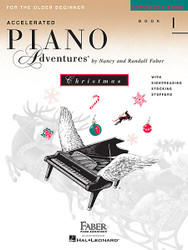 Accelerated Piano Adventures For The Older Beginner, Christmas Book 1, Christmas Book 1
