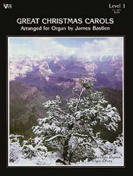 Older Beginner Organ Library Great Christmas Carols 1
