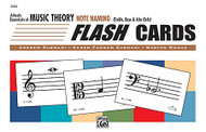 Essentials Of Music Theory: Flash Cards -- Note Naming