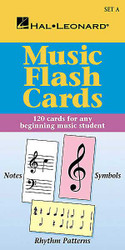Music Flash Cards - Set A, Hal Leonard Student Piano Library