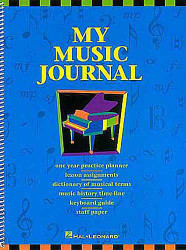 My Music Journal - Student Assignment Book, Hal Leonard Student Piano Library
