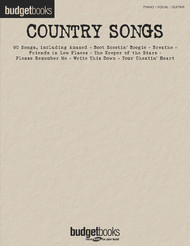 Country Songs, Budget Books, P/V/G