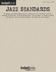 Jazz Standards, Budget Books, P/V/G