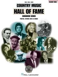 Country Music Hall Of Fame - Volume 3, P/V/G