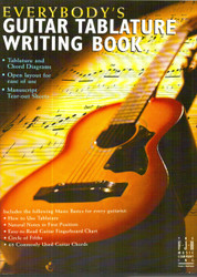 Everybody's Guitar Tablature Writing Book