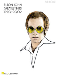 Elton John - Greatest Hits 1970-2002, P/V/G
