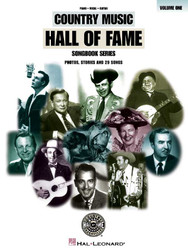 Country Music Hall Of Fame Volume 1, P/V/G