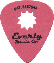 Everly Star Pick 0.50mm 12 Picks Red