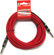 18.6' Strukture Red Woven Instrument Cable (SC186RD)
