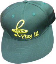 "CMC Baseball Cap ""Play It!"" - Green and Gold"