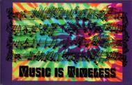 """Fridge Magnet """"Music is Timeless"""""""