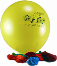 "Balloons ""Music is Not Just Hot Air"" 12-Pack (5021)"