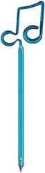 Bentcil Double Note Pen Teal (06275TL)