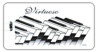 "ID/Luggage tag: ""Virtuoso"""