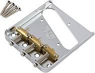 Fender Telecaster Chrome Bridge Assembly