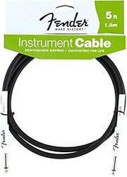 05' Fender® Performance Series Cables Instrument Cable - Black