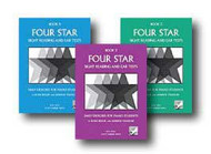 Four Star Sight Reading and Ear Tests for Piano - Three Book Set - Book 3, Bo..