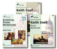 Neil A. Kjos Piano Library Piano Repertoire Level Ten - Three Book Set - Incl..