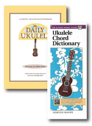 Alfred's Handy Guide Ukulele Chord Dictionary and The Daily Ukulele Jumpin' J..