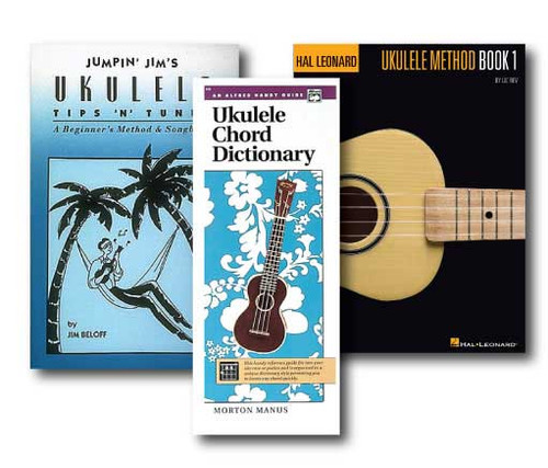 Ukulele Learner's Pack - 3 Book Set - Includes Alfred's Handy Guide Ukulele C..