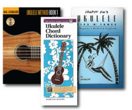 Ukulele Learner's Pack with CD - 3 Book Set and CD- Includes Alfred's Handy G..