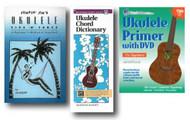 Ukulele Beginner's Learning Pack - 3 Books - Jumpin' Jim's Ukulele Tips 'N' T..