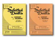 Rubank Educational Library Selected Duets for Cornet or Trumpet, Includes 2 B..