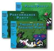 Bastiens' Invitation to Music - 3 Book Set - Includes Piano Party Book B, Per..