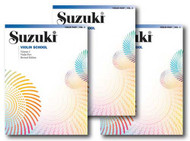Suzuki Violin School, Violin Part - 3 Book Set - Includes Volume 1, Volume 2 ..