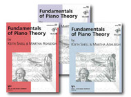 Kjos Piano Library - Fundamentals of Piano Theory - Three Book Set - Includes..