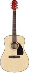 Fender CD60 Classic Design Dreadnought Acoustic Guitar - Natural (096-1539-221)
