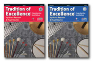 Tradition of Excellence with DVD for Percussion - Two Book Set - Includes Boo..