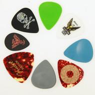 Guitar Player's Pick Sampler Pack - Eight Assorted Guitar Pick