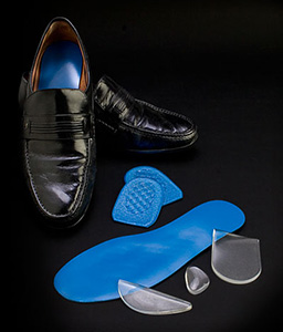 Cambion heel and insole cushions