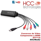 ET113 Conversor Video Componente a HDMI