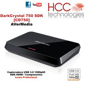 CD750 DarkCrystal 750 [AVerMedia] - Línea Profesional