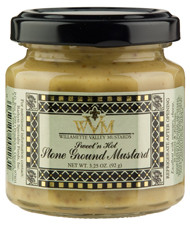 3.25oz Sweet' N Hot Stone Ground Mustard