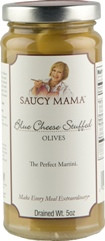Olives- Saucy Mama Blue Cheese Stuffed