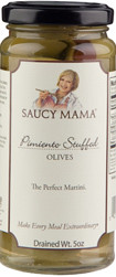 Olives- Saucy Mama Pimiento Stuffed