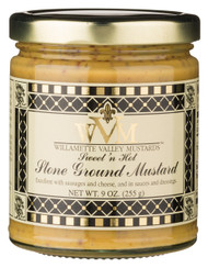 Sweet 'N Hot Stone Ground Mustard