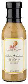 Saucy Mama White Balsamic & Honey Dressing (12oz.)