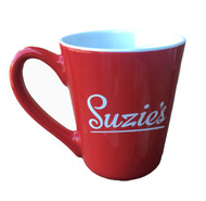 Suzie's Red Coffee Mug