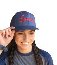 Suzie's Grey Performance FlexFit Hat