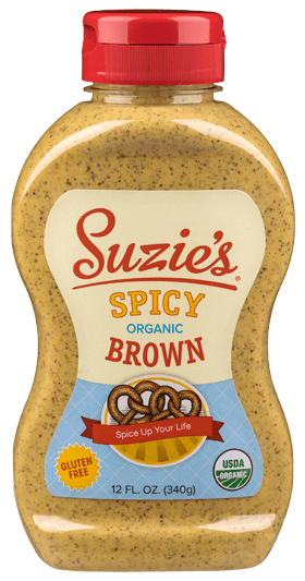 Suzie's Organic Spicy Brown Mustard